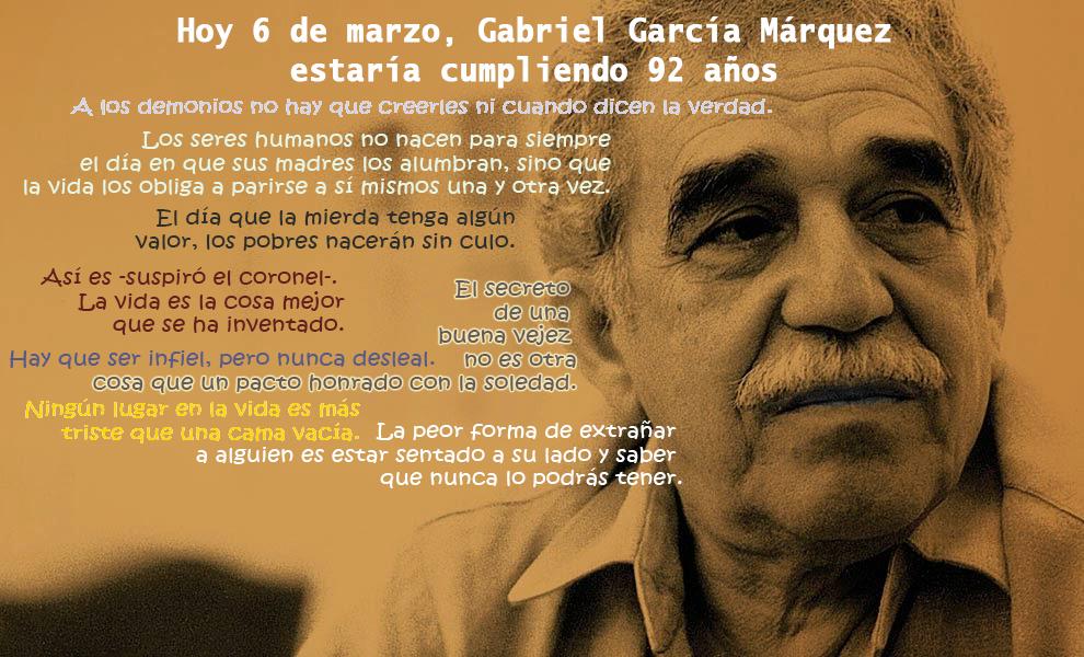 20 Frases Celebres Escritas Por Gabo El Artículo